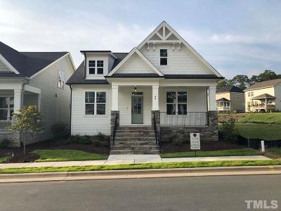 Chapel Hill Single Family Home For Sale: 46 Bluffwood Avenue #Lt1879