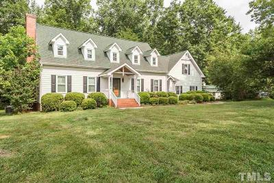 Durham County Single Family Home For Sale: 9901 Gallop Lane
