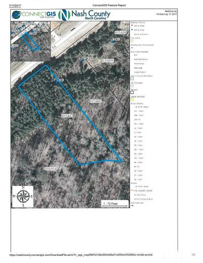 Spring Hope Residential Lots & Land For Sale: 11445 Old Us 64