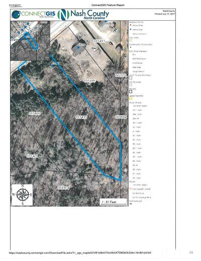 Spring Hope Residential Lots & Land For Sale: 11401 Old Us 64