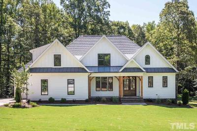 Pittsboro Single Family Home Contingent: 144 Sunset Grove Drive