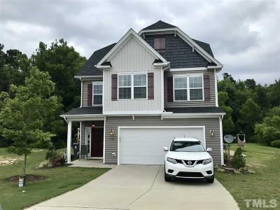 Harnett County Single Family Home For Sale: 133 Arbor Loop
