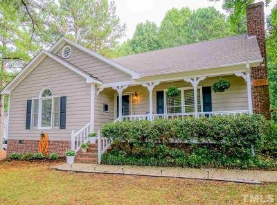 Clayton Single Family Home Contingent: 209 Valley Creek Drive