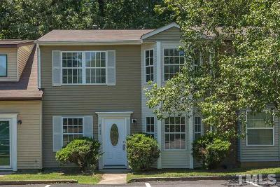 Raleigh Townhouse Contingent: 8143 McGuire