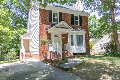 Raleigh Single Family Home Contingent: 8220 Round Oak Road