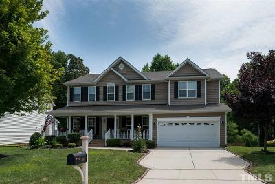 Holly Springs Single Family Home For Sale: 201 Quarryrock Road