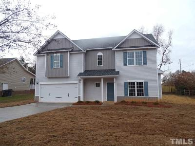 Angier Single Family Home Pending: 10 Glen Meadow Drive