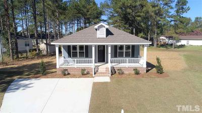 Benson Single Family Home Contingent: 405 S Eastwood Drive