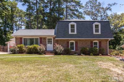 Cary Single Family Home For Sale: 911 Medlin Drive