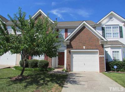 Raleigh Townhouse Contingent: 10704 Pendragon Place