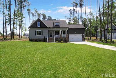 Angier Single Family Home For Sale: 3645 Old Fairground Road