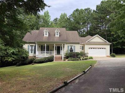 Clayton Single Family Home For Sale: 204 Sierra Ridge Drive