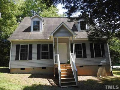 Carrboro Single Family Home For Sale: 90 Pine Hill Drive