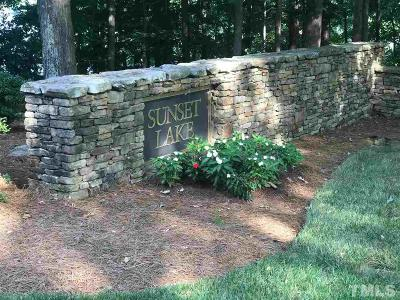 Wake County Residential Lots & Land For Sale: 4717 Cypress Ford Drive
