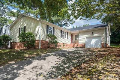 Raleigh Single Family Home For Sale: 429 Rosehaven Drive