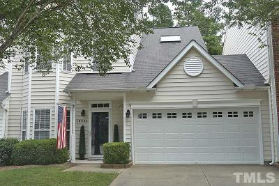 Raleigh, Cary Townhouse For Sale: 10604 Edmundson Avenue