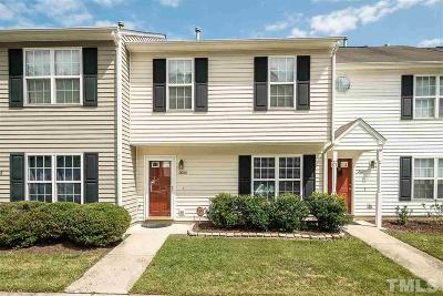 Raleigh Townhouse For Sale: 2606 Dwight Place