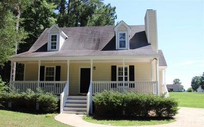 Youngsville Single Family Home Contingent: 155 Cherrylaurel Drive