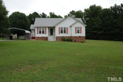 Clayton Single Family Home For Sale: 124 Shady Meadows Lane