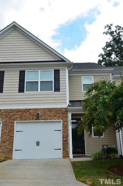 Raleigh NC Townhouse For Sale: $250,000
