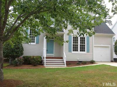 Cary Single Family Home For Sale: 100 Mint Hill Drive