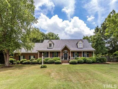Spring Hope Single Family Home For Sale: 1446 Frazier Road