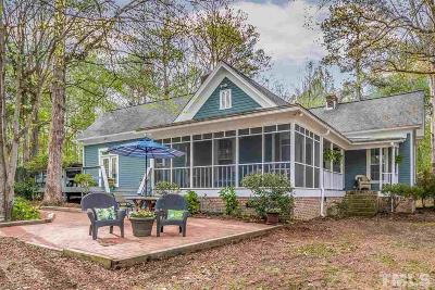 Pittsboro Single Family Home For Sale: 590 Old Goldston Road