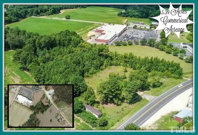 Harnett County Commercial Lots & Land For Sale: 808 S Us 401 Highway