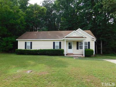 Wendell Single Family Home For Sale: 7313 Campsite Drive