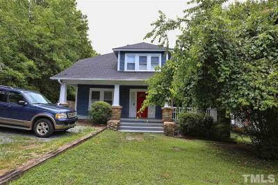 Chapel Hill Multi Family Home For Sale: 713 Church Street