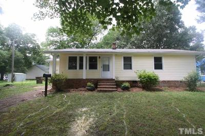Wake Forest Single Family Home Contingent: 419 N Allen Road