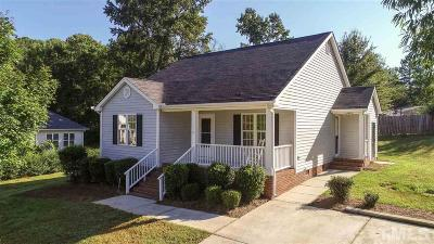 Garner Single Family Home For Sale: 114 Westcroft Drive