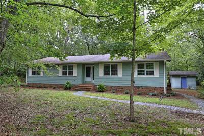 Carrboro Single Family Home For Sale: 406 James Street