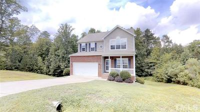 Sanford Single Family Home Pending: 515 Snow Circle