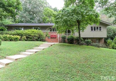 Raleigh Single Family Home For Sale: 2408 Rockridge Court