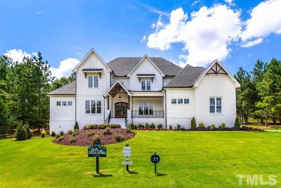 Wake Forest Single Family Home For Sale: 7605 Dover Hills Drive