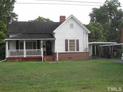 Harnett County Single Family Home For Sale: 305 W K Street
