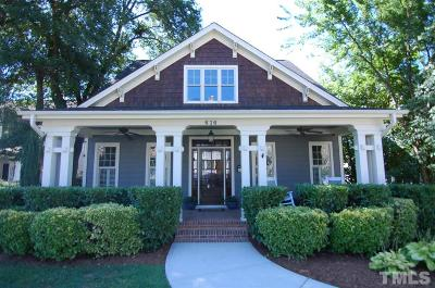 Raleigh Single Family Home Contingent: 616 New Road