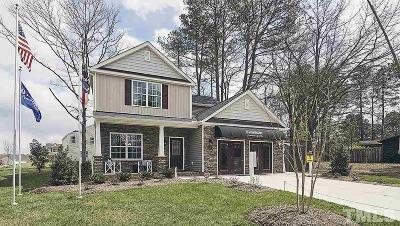 Garner Single Family Home Pending: 110 Preakness Farm Drive