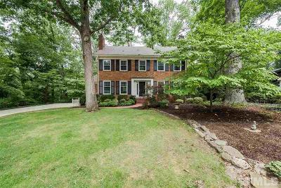 Raleigh Single Family Home For Sale: 2405 Rockridge Court