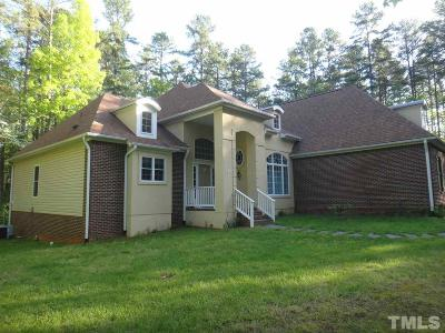 Rougemont Single Family Home For Sale: 1101 Westridge Road