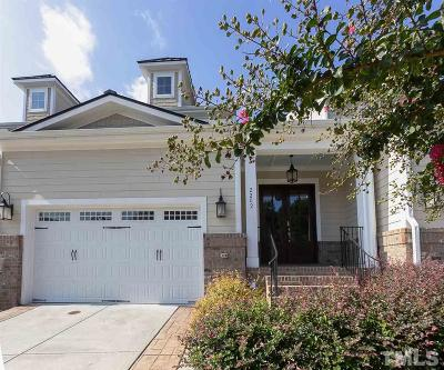 Raleigh Townhouse For Sale: 2202 Carriage Oaks Drive