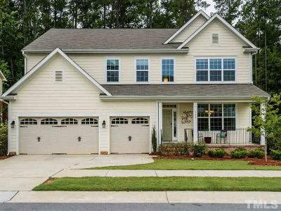 Holly Springs Single Family Home For Sale: 109 Horncliffe Way