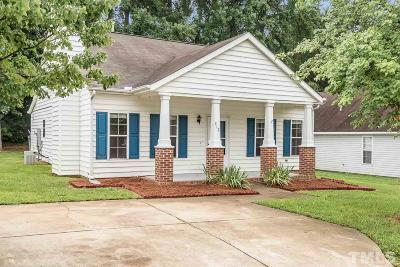 Wake Forest Single Family Home Contingent: 212 Highgate Circle