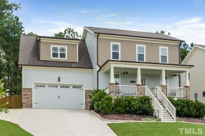 Raleigh Single Family Home For Sale: 6410 Grassy Knoll Lane