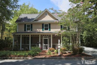 Carrboro Single Family Home For Sale: 303 Oak Avenue