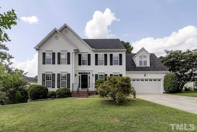 Wake Forest Single Family Home Contingent: 6505 Austin Creek Drive