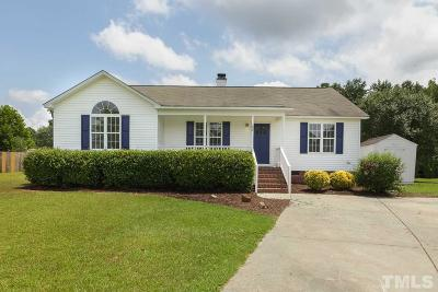 Fuquay Varina Single Family Home Contingent: 55 Fernway Circle