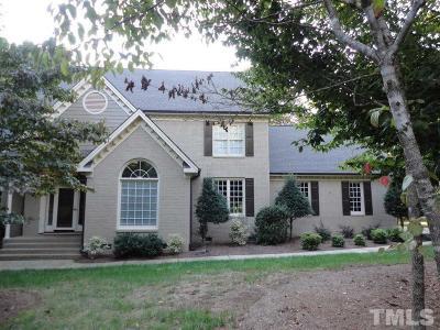 Raleigh Single Family Home For Sale: 6201 Heacham Court