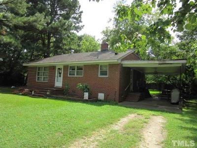 Bunn Single Family Home Pending: 5 Weathersby Street